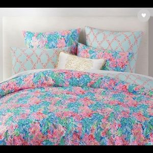 Lilly Pulitzer Pottery Barn Full/Queen Duvet Cover